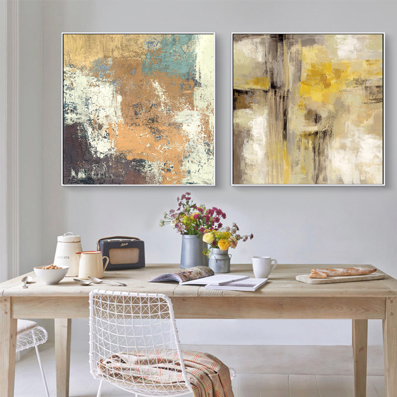 F Abstract Oil Painting On Canvas Art Print Home Decor Wall Art Poster