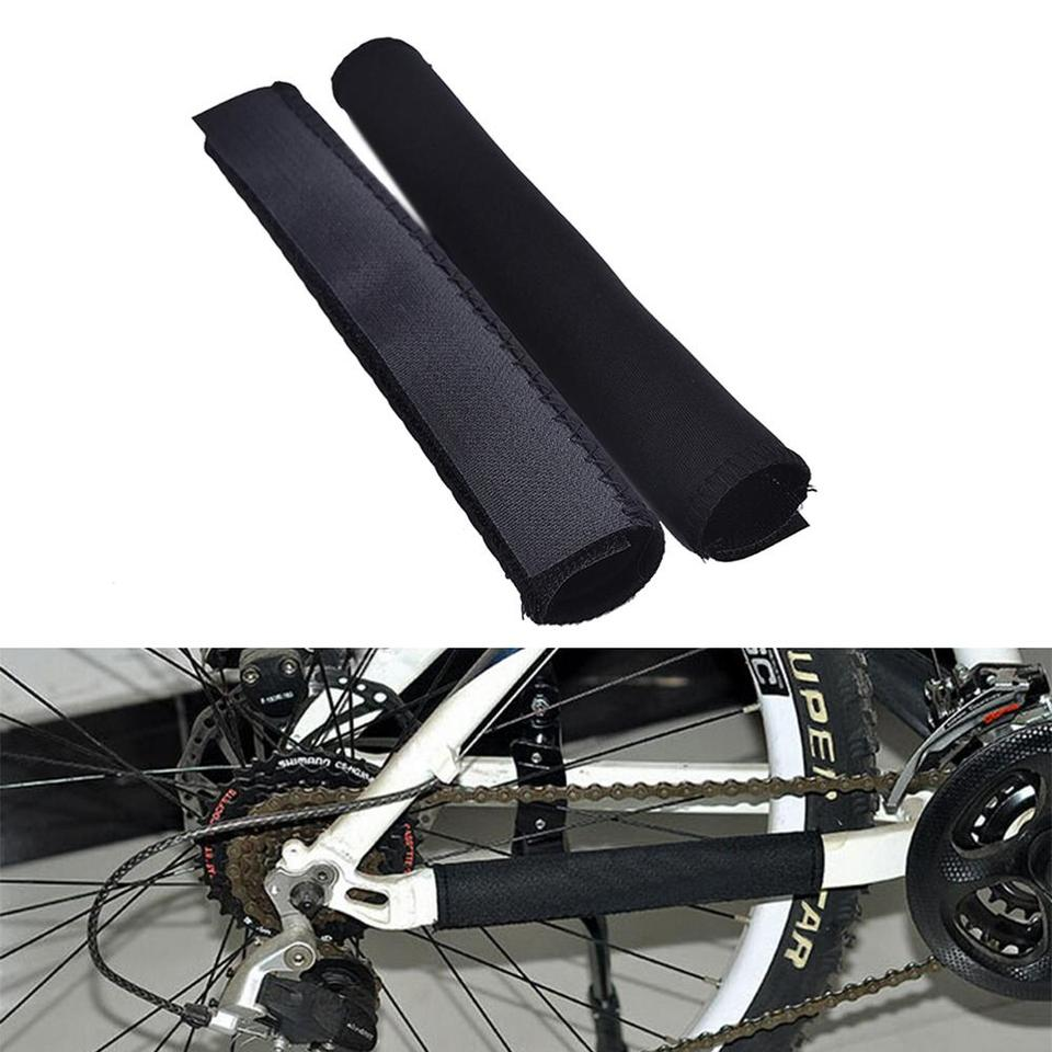 2 Roll Bike Frame Protection Tape Clear Dustproof Chain Stay Protector