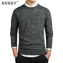 O-neck Sweater Men Long Sleeve Pullovers Coat Solid Cotton Men Pullovers And Sweaters Knitted Casual Pull Homme M-3XL цена