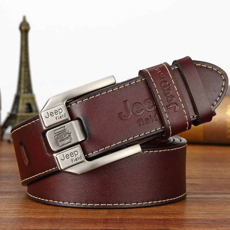Designer Men's Belts For Men Belt Genuine Leather High Quality Famous Brand Pin Buckle Strap Luxury Male Belts Man Belt Jeans