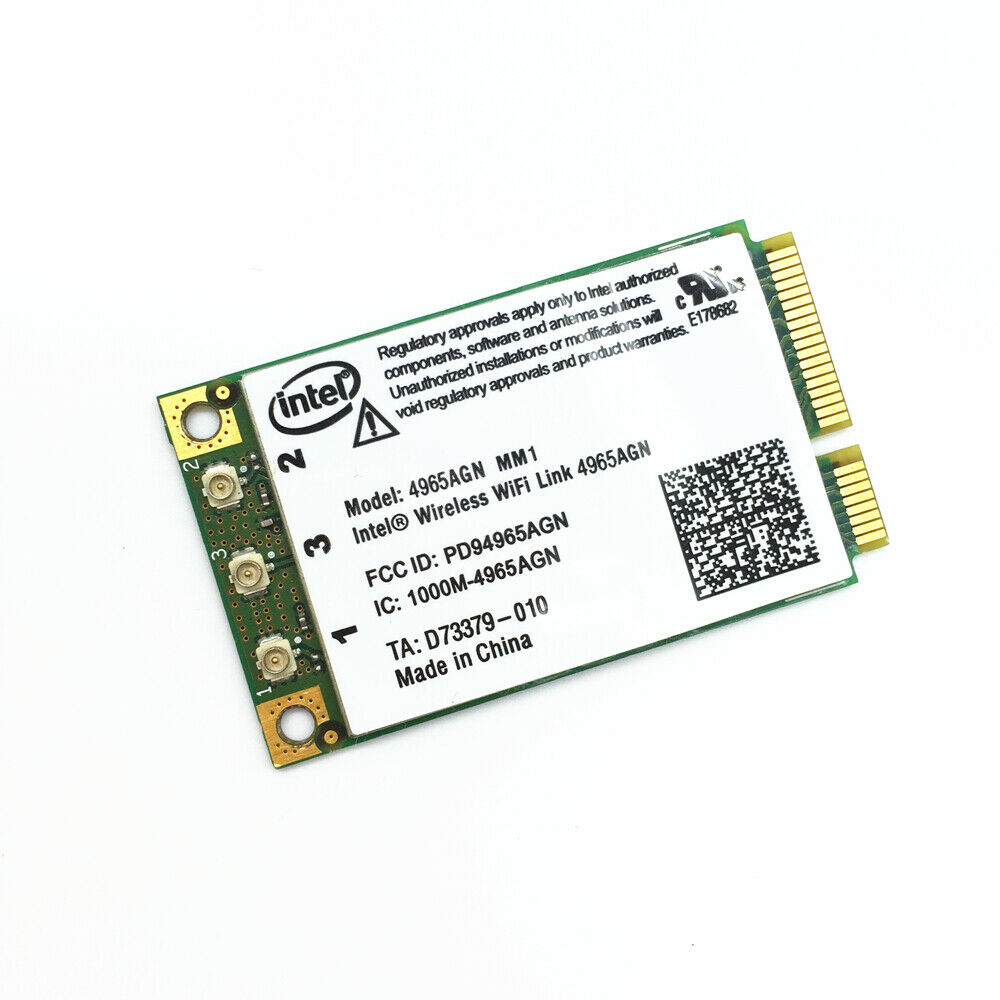 Free Shipping For New Wireless WiFi 4965AGN Intel 4965 MM1 Mini Card For XPS M140 M1210 M1330 M1530