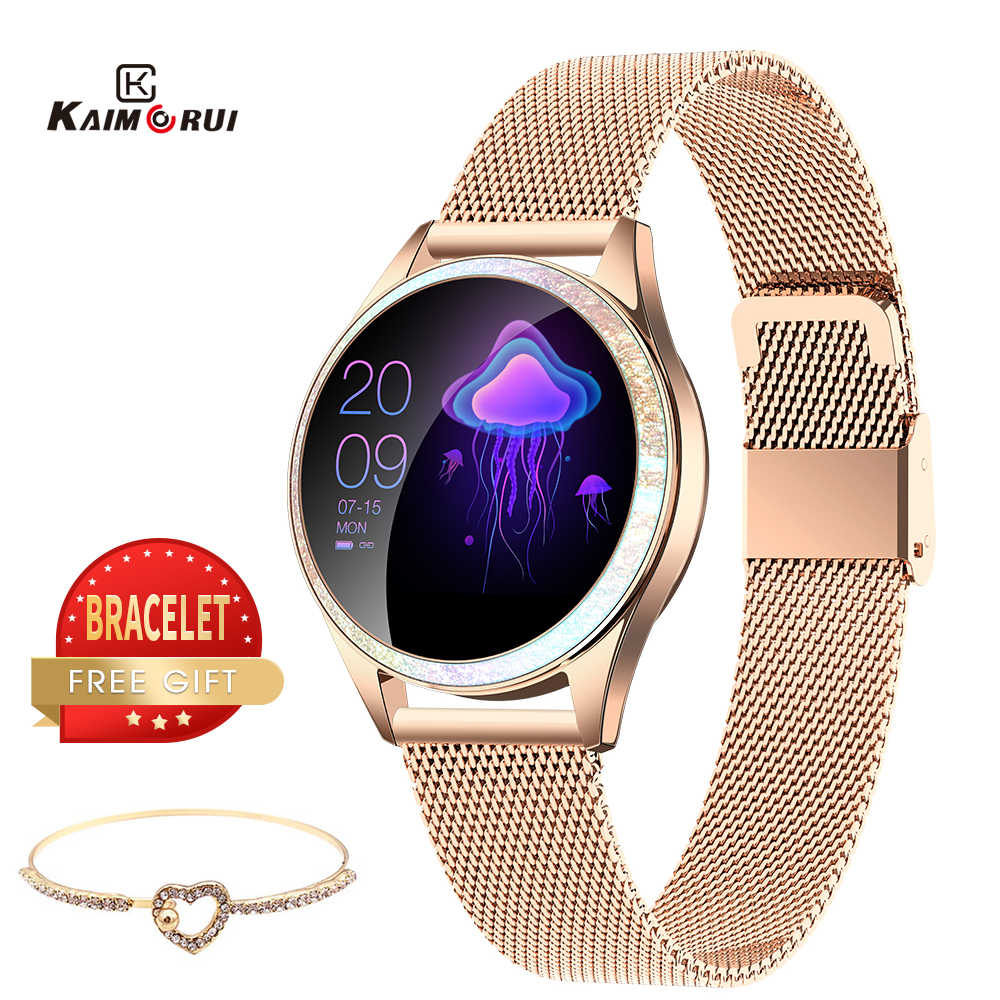 Smart Bracelet Women Heart Rate IP68 Waterproof Bluetooth Smart Band Call Reminder Fitness Tracker Female Smartwatch Android