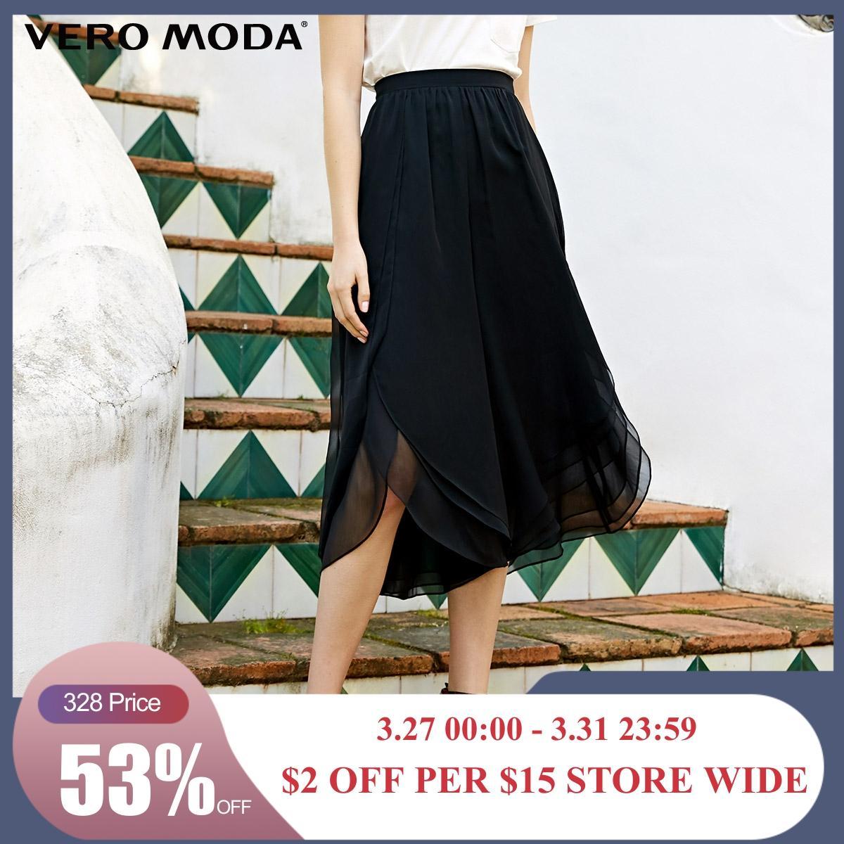 Vero Moda New Arrivals Ins Style Draped Capri Pants | 31926J533