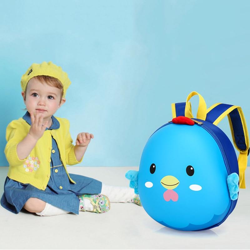 Cute Kid Toddler Backpack Kindergarten Schoolbag 3D Cartoon Hedgehog Animal Bag