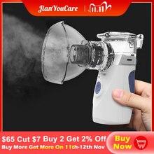 Sağlık Mini el taşınabilir solunum nebulizatör sessiz ultrasonik inalador nebulizador çocuk yetişkin şarj edilebilir atomizer