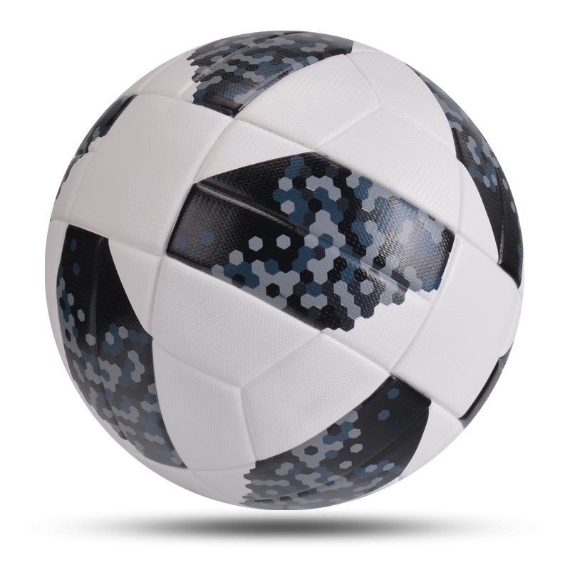 New High Quality Soccer Balls Office Size 5 Football PU Leather Outdoor Champion Match League Ball Futbol Bola De Futebol
