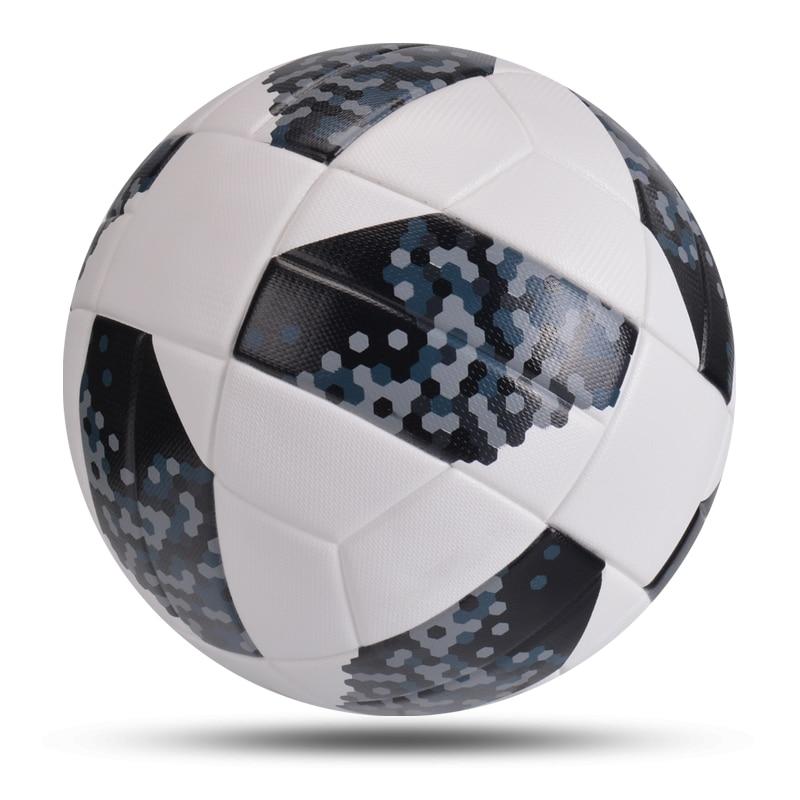 New High Quality Soccer Balls Office Size 5 Football PU Leather Outdoor Champion Match League Ball Futbol Bola De Futebol