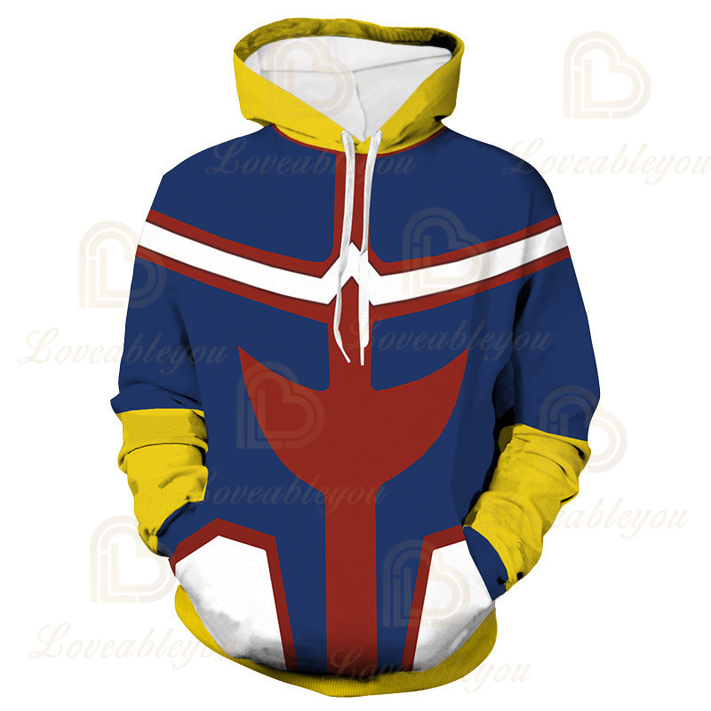 Anime Hoodies Sweatshirts Boku No My Hero Academia Cosplay Costumes Bakugou Todoroki Shoto Spring/Autumn Coat 18