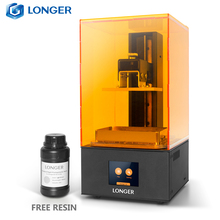 Longer Orange10 3D Printer LCD SLA 3D Printing Smart Support Fast Slicing UV Light Curing Easy Operate