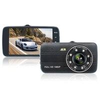 4 Inch IPS Screen Car DVR Camera Full HD 1080P Recorder Auto Video Registrator 170 Degree Dash Cam Night Vision DVR