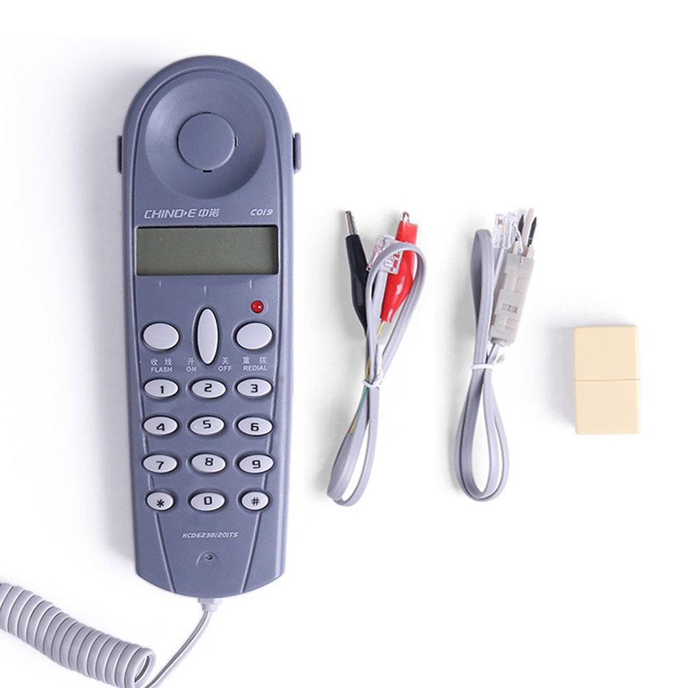 C019 телефонной сети Тесты er телефон Стыковая Тесты инструмент Тесты er кабель для телефонной линии
