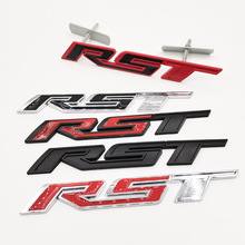 RST شعار غطاء المحرك لشفروليه ماليبو ، ملصق ، لسيارة شيفروليه ، إمبالا ، كورفيت ، كامارو ، كولورادو ، سيلفرادو ، ماتز ، سبارك كالوس