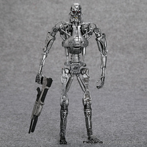 "Image 5 - Die Terminator Endoskeleton PVC Action Figure Sammeln Modell Spielzeug 7 ""18cm"