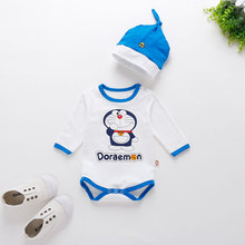 Infant Romper Baby Boys Girls Jumpsuit New born Bebe Clothing Hooded Toddler Baby Clothes Cute Cartoon Baby Costumes