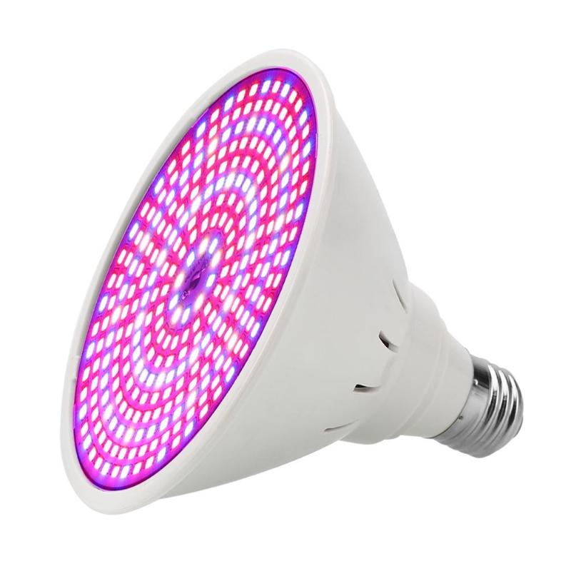 290 LEDs E27 Plants LED Grow Light Full Spectrum Hydroponic Vegetable Growing Lamp For Indoor Greenhouse Grow Tent Plants