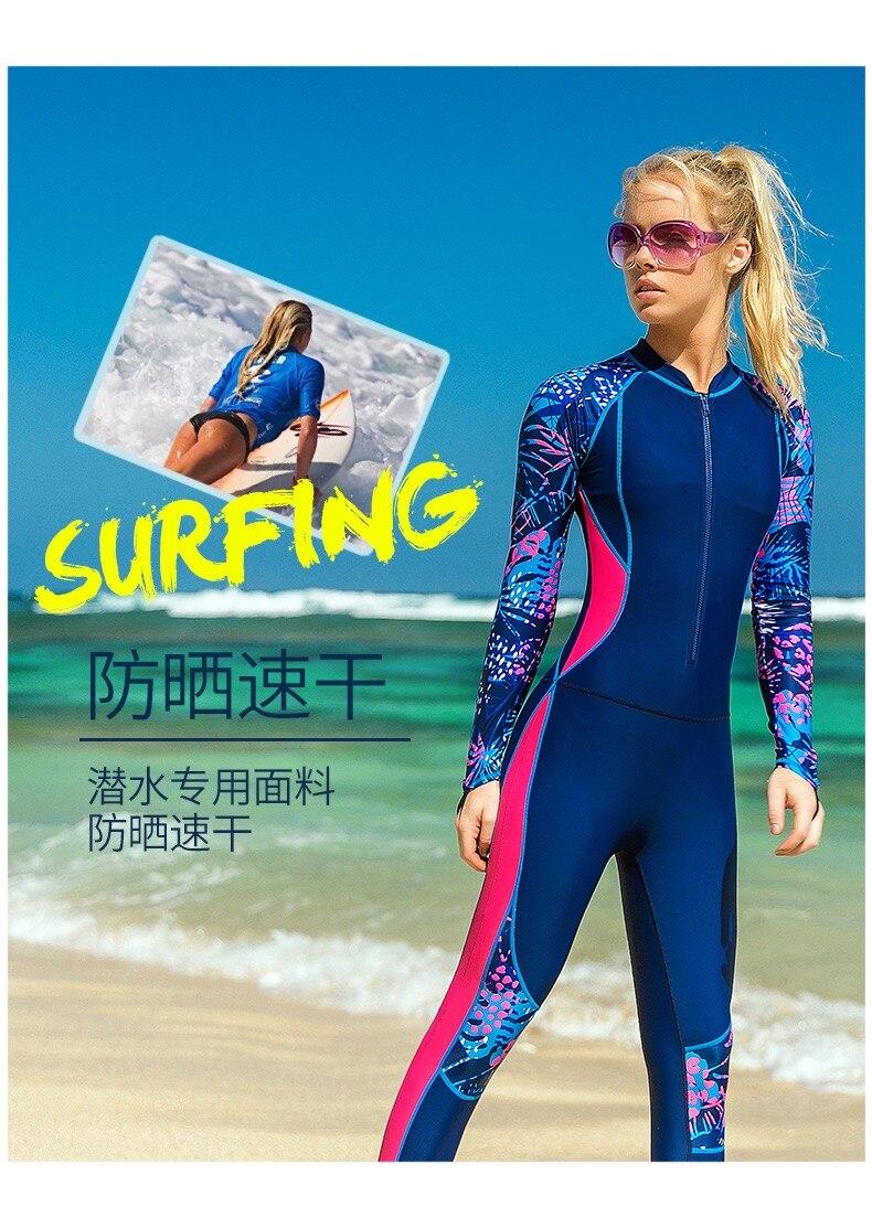 Mulher terno de mergulho maiô lycra wetsuit