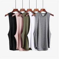 Camiseta sin mangas para hombre, ropa de Fitness para gimnasio, chaleco de moda para culturismo