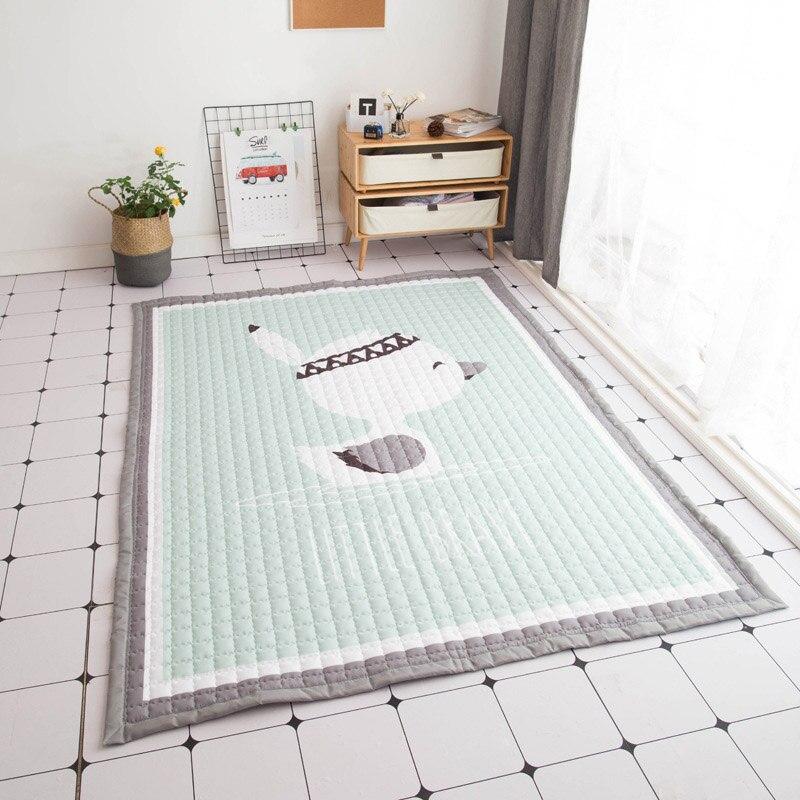 Rectangle épaissir tapis enfant escalade tapis Portable pliant extérieur pique-nique tapis bébé jouer Pad salon décoration tapis