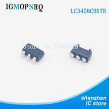 10 pçs/lote lc3406 lc3406cb5tr conversor de buck síncrono chip ic smd sot23 autêntico