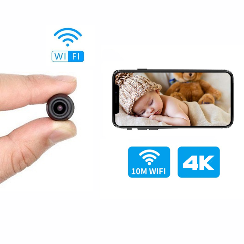 HD 1080P <font><b>Mini</b></font> <font><b>Camera</b></font> Wifi small ip <font><b>camera</b></font> P2P Wireless Micro webcam Camcorder Video Recorder Support Remote View Hidden TF card image