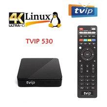 Yeni Tvip 530 İskandinavya Linux OS Amlogic Amlogic S905W dört çekirdekli USB WiFi 4K akıllı TV kutusu TVIP530/605 android medya oynatıcı