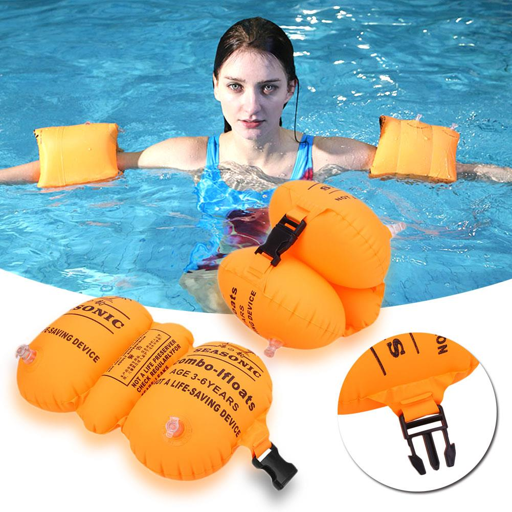 Kids Arm Ring Floating Inflatable Floater Swimming Pool Float Row 10pcs//5 Pairs