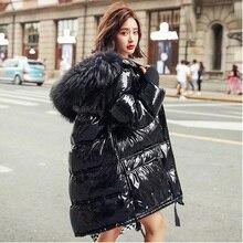 Jacket Women Coat Down-Parka Female Winter Hooded Fitaylor Duck-Down Waterproof Long
