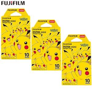 Image 1 - Fujifilm Instax Mini Film Instax Mini 8 / 9 Pokemon Pikachu Film For Fuji Mini 7s 25s 26 70 90 Instant Camera Share SP 1 SP 2