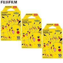 Fujifilm instax mini filme pokemon, instax mini 8/9, filme pikachu para fuji mini 7s 25s 26 compartilhar câmera instantânea 70 90 SP 1 SP 2