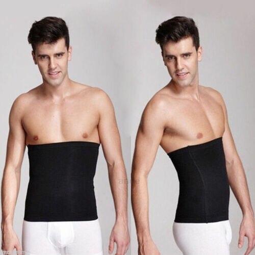 Men´s Healthy Slimming Body Abdomen Shaper Belt Black Underwear Burn Fat Sweat 2