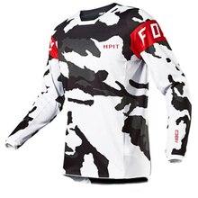 2020 męskie koszulki zjazdowe hpit fox Mountain Bike MTB koszule Offroad DH koszulka motocyklowa Motocross odzież sportowa FXR bike
