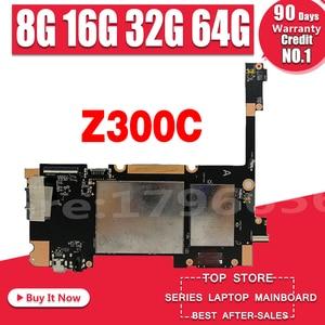 Новинка! Оригинал для For Asus ZenPad 10 P023 Z300C планшеты материнская плата для ноутбука логическая плата W/ C3200-CPU 8G 16G 32G 64G SSD