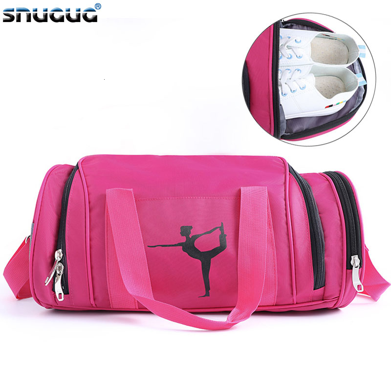 2019 Yoga Bag Fashion Women Sport Bag Shoes New Yoga Mat Bag Bolsa De Yoga Bolsa Yoga Oxford Lady Fitness Bag For Gym Women