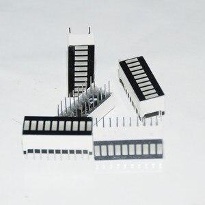 Image 4 - 50pcs 10 세그먼트 LED 막대 그래프 배열 번호 LED 징후 큐브 레드 라이트 바 그래프 그래픽 바 디스플레이 레드 10 바 LED 디스플레이 보드