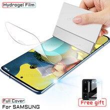 Filme Para Samsung Galaxy A51 hidrogel A50 A71 A52 A41 Protetor de Tela Para Samsung A10 A20 A30 A20E A40 A60 A70 A80 A90 Não Vidro