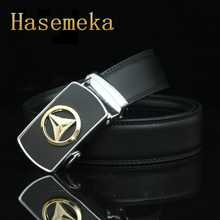 Top Quality Mens Business Style Belt Brand Designer Leather Strap Male Alloy Automatic Buckle Belts For Men Girdle Belts.