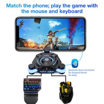 PUBG Mobile Gamepad Controller Gaming Keyboard Mouse Converter For Android Ios Phone To PC Bluetooth 4.0 Adapter Plug And Play