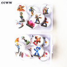 Coin-Game-Card Wiiu Nfc Ntag215 Mario-Kart Sticker Ns-Switch Printed 20pcs 8 for Deluxe-Collection