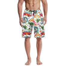 Mens Summer Swim Trunks 3D Print Graphic Casual Athletic Beach Short Pants sweatpants Streetwear pantalones cortos hombre(China)