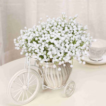 1/3pc Artificial Flower Gypsophila Artificial Flowers White Branch Babies Breath Fake Flowers Bouquet Home Wedding Decoration