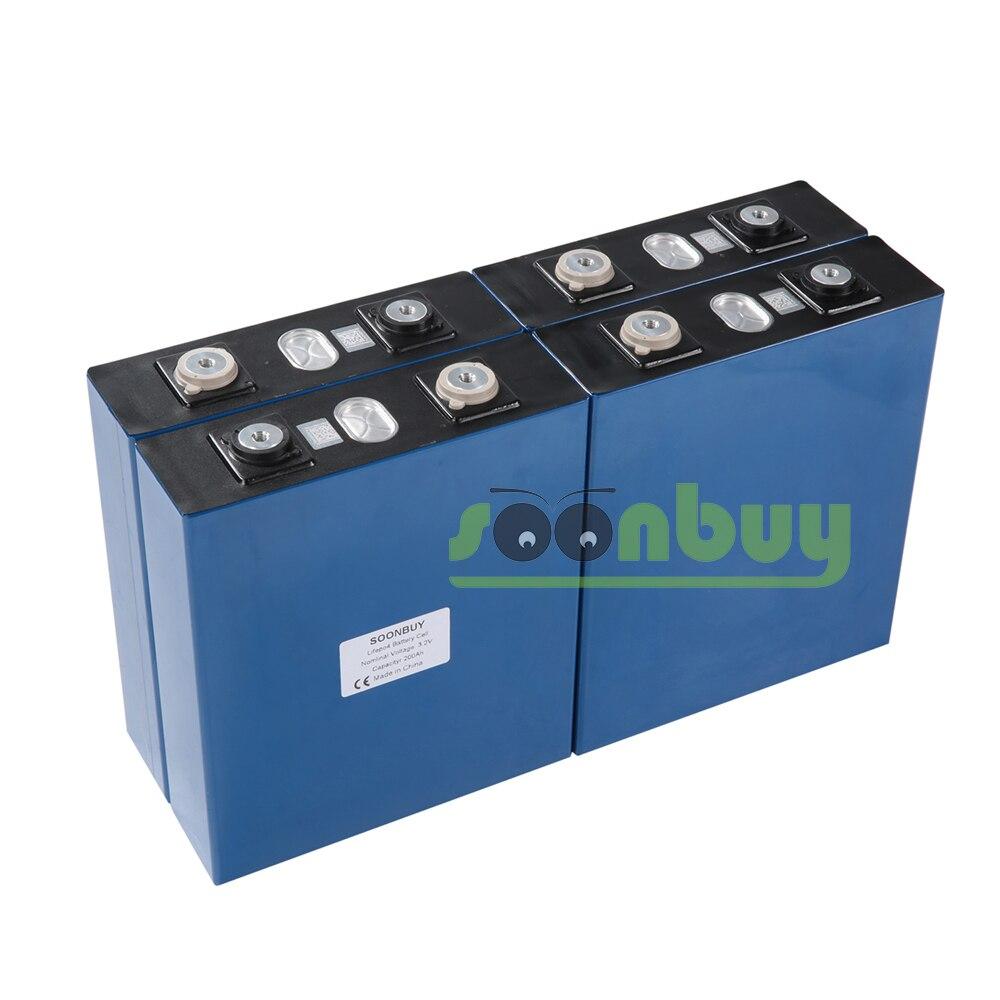 Nouvelle batterie rechargeable Lifepo4 3.2v 200ah 3.2v 12V 200ah batterie adaptée à l'énergie solaire longue durée 3500 Cycles EUUS sans taxe - 5