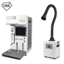 Auto TBK 958A DIY printer CNC Laser Engraving Machine LCD Laser Repair Machine For iPhone 11 X XS XSMax 8 Back cover separater