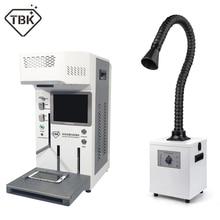 Auto TBK 958A FAI DA TE stampante CNC Incisione Laser Macchina Laser A CRISTALLI LIQUIDI di Riparazione Della Macchina Per iPhone 11 X XS XSMax 8 Posteriore copertura separater