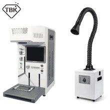 TBK 958A automatique bricolage imprimante CNC Laser gravure Machine LCD Laser réparation Machine pour iPhone 11 X XS XSMax 8 couverture arrière séparateur