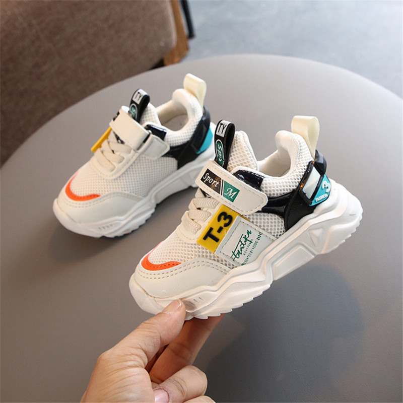 DIMI 2020 Spring Children Shoes Fashion Breathable Infant Sneakers Comfortable Soft Non-slip Boys Girls Casual Sport Shoes
