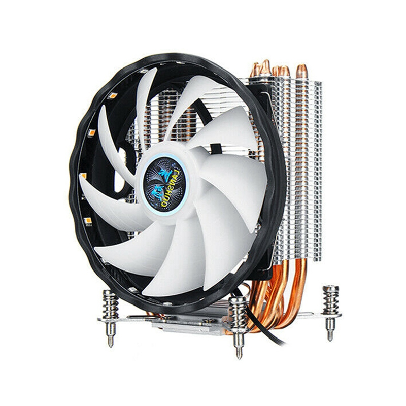 Cpu Cooler 6 Heatpipe 120Mm Rgb Fan For Lga 775/1150/1151/1155/1156/1366 Au image