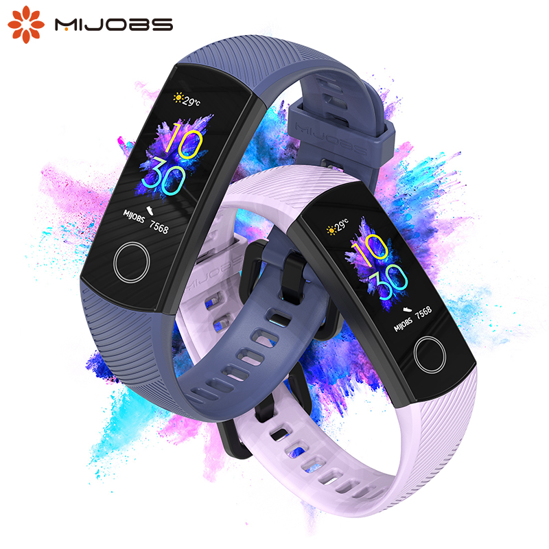For Huawei Honor Band 4 Wristband Strap For Honor Band 5 Bracelet  Silicone Wrist Strap  Multi Color Optional Smart Accessories