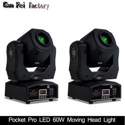 Mini Spot 60W LED Moving Head Licht Met Gobo Plaat & Kleur Plaat, hoge Helderheid 60W Mini Led Moving Head Licht DMX512