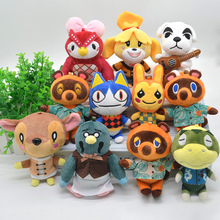 Switch Game Villagers plush Keychains Anima Crossing Key chains Fashion Jewelry Accessories Cute Shaped Pendants Keyrings