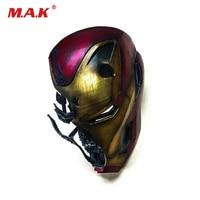 In Stock 1/1 The Avenger 4 Iron Man MK50 Battle Damage 1/1th Helmet W/Light VL1902 Figure Toys for Fans
